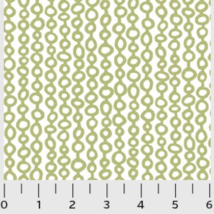 Urban Scandinavian, Green Beads- P&B Fabrics