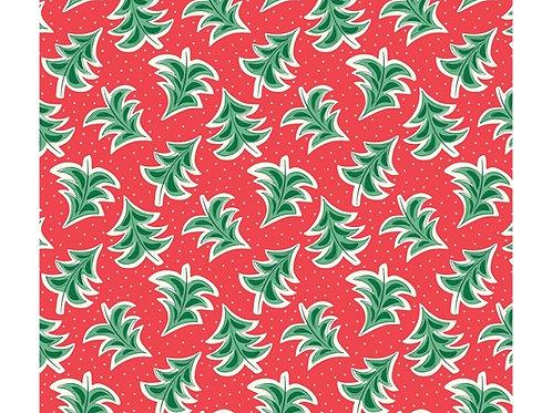 Merry & Bright Dancing Trees 928A - Liberty Fabrics