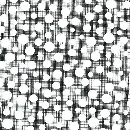 Hash Dot Ebony- Michael Miller Fabrics