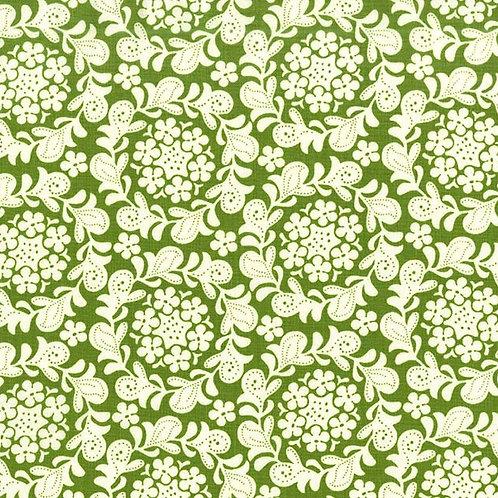 Petit Henna Garden Grass, Strawberry Moon - Michael Miller