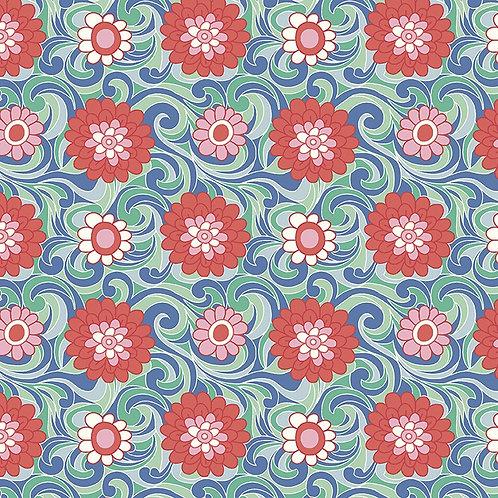 Carnaby Carnation Carnival 951C- Liberty Fabrics