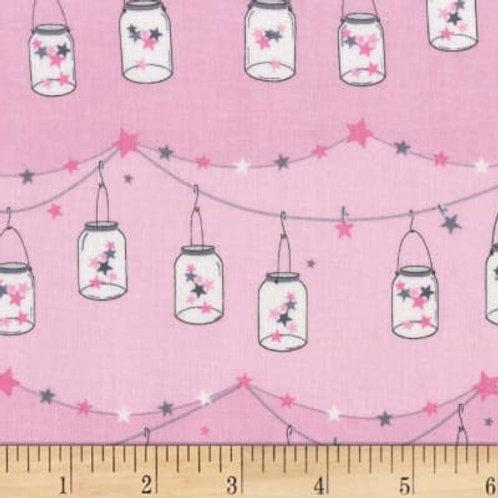 Twinkle Twinkle Little Jars Starlight- Michael Miller Fabrics