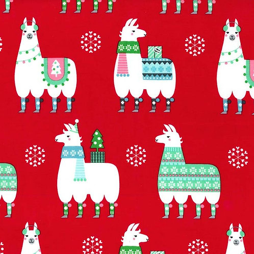 Llama Navidad- Michael Miller