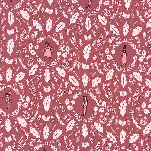 Girls are much too clever, Rose- Michael Miller Fabrics