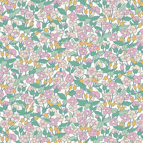 Carnaby Piccadilly Poppy 941E- Liberty Fabrics