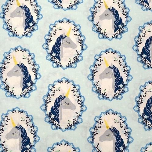 Do you Believe Aqua- Michael Miller Fabrics