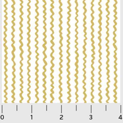Urban Scandinavian, Mustard Stripe- P&B Fabrics
