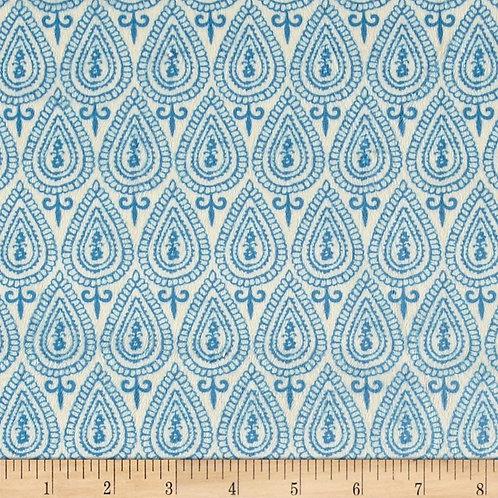 Ginger Blossom Sapphire- Michael Miller Fabrics
