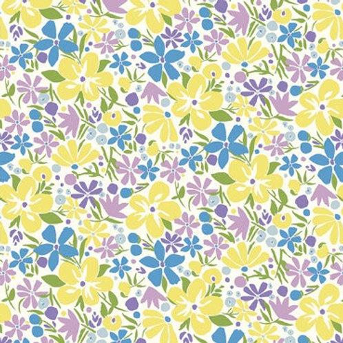 Carnaby Bohemian Bloom 952B- Liberty Fabrics