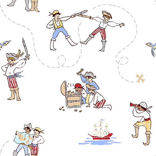 A Pirate's Life, Sailor- Michael Miller Fabrics
