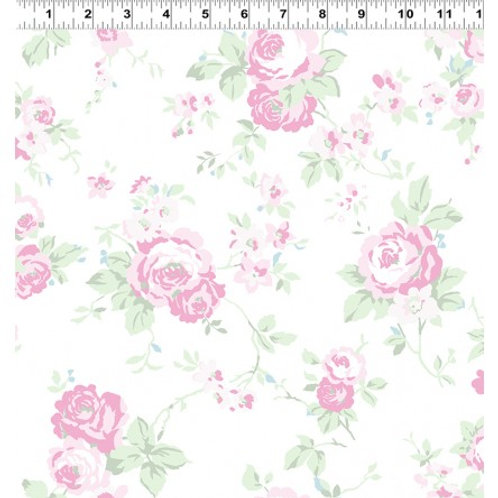 Madeline Pink CWY2285-1- Clothworks Fabrics