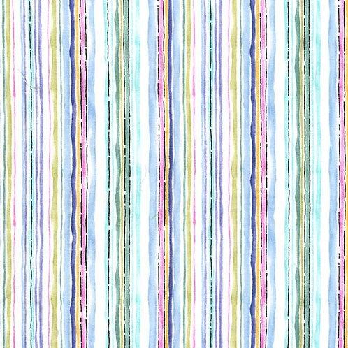 Aquerelle Stripe Spring- Michael Miller Fabrics