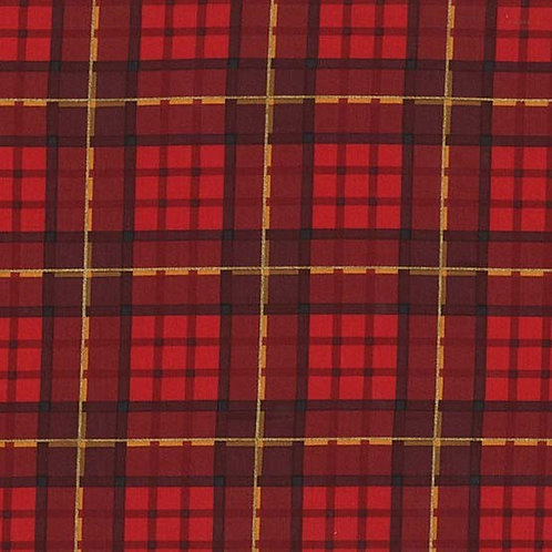 Nutcracker Plaid- Michael Miller Fabrics