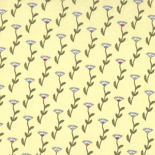 Fleurs Retro Honey - Michael Miller Fabrics