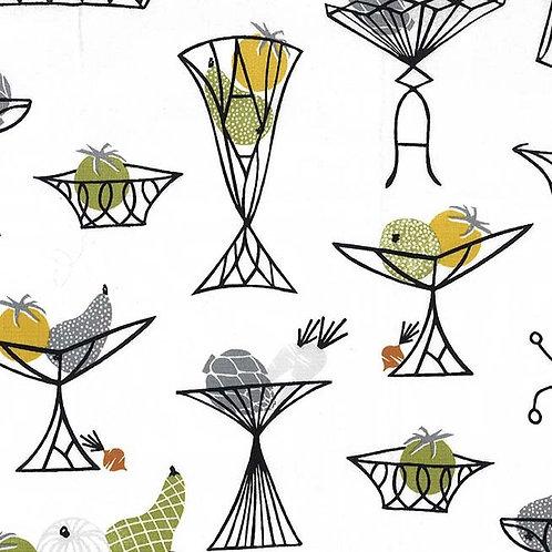 Kitschy Kitchen Herb- Michael Miller Fabrics