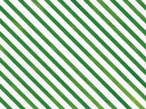 Red Rooster Fabric- Snow Fun Green Stripe