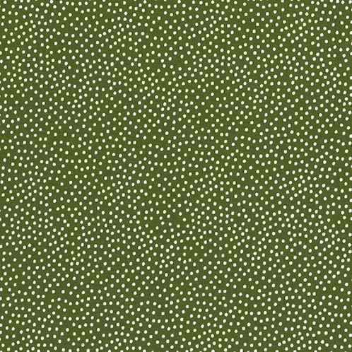 Garden Pindot Basil- Michael Miller Fabrics