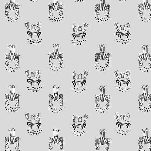 Jersey Melange Sea Crabs- Katia Fabrics