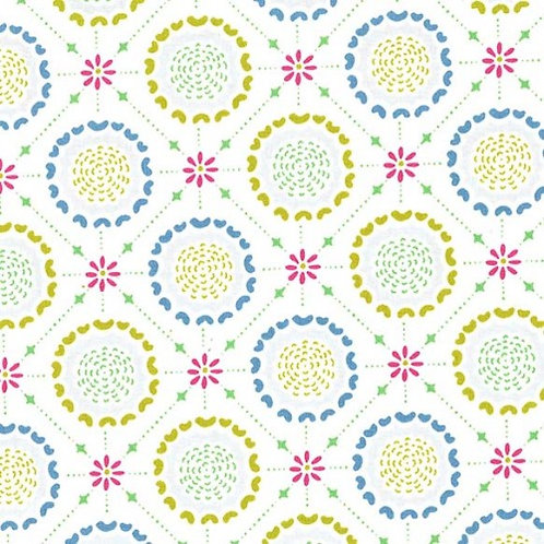 Tin Ceiling Periwinkle- Michael Miller Fabrics