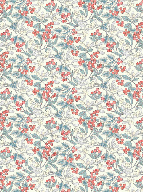 Christmas Berry- Liberty Fabrics