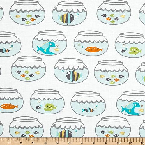 Swimming in Circles- Michael Miller Fabrics