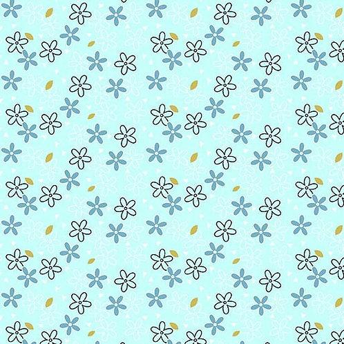 Glitter Daisy Mist- Michael Miller Fabrics