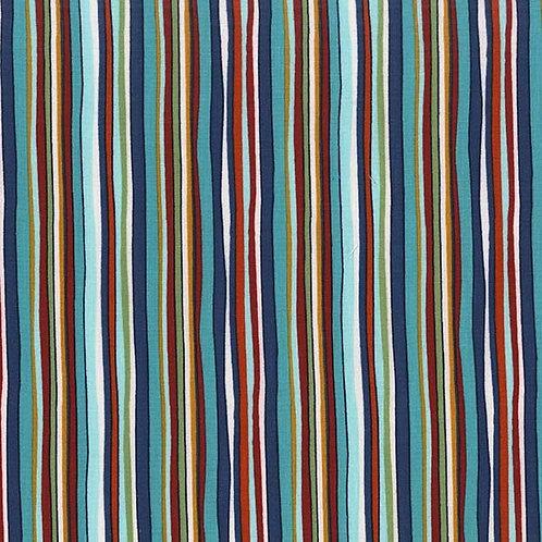 Straight Path Stream- Michael Miller Fabrics