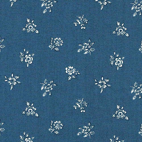 Abbeywood Blue, Winter Flower Garden- Liberty Fabrics