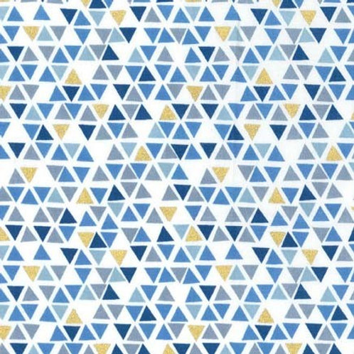 Pyramids Denim- Michael Miller Fabrics