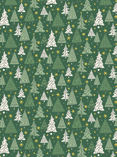 Noel Forest Green- Liberty Fabrics