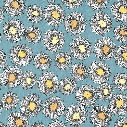 Camomilles, Strawberry Tea Robin- Michael Miller Fabrics