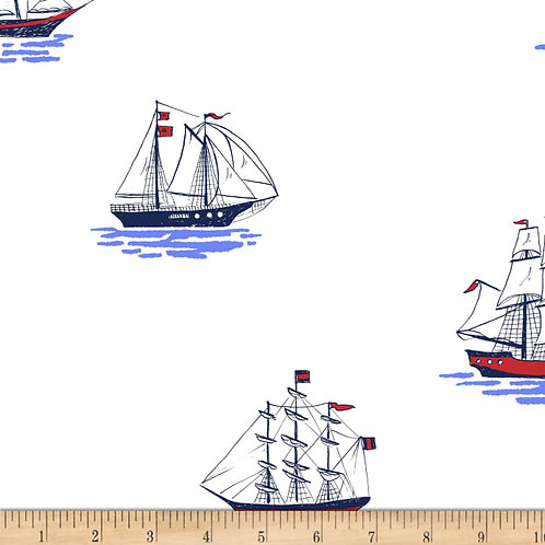 My Favourite Ship, Sailor- Michael Miller Fabrics