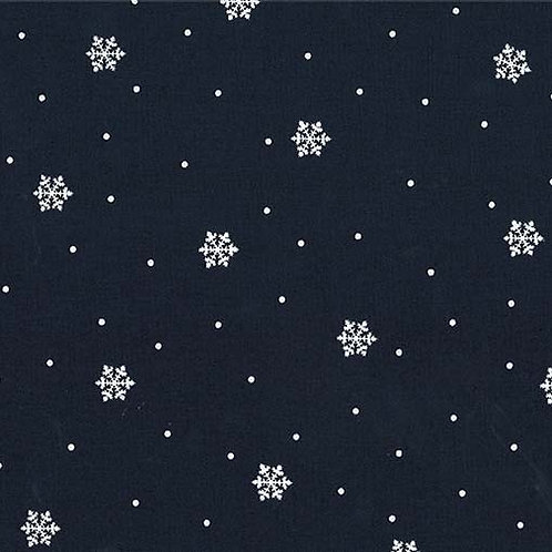 Snowbound Midnight- Michael Miller Fabrics
