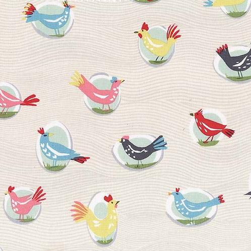 Yard Birds- Michael Miller Fabrics