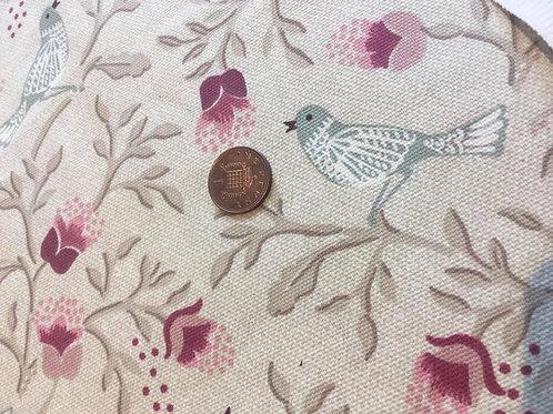Bird Song Chintz- Upholstery Fabric