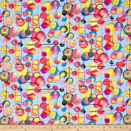 Bubbles Blue- Michael Miller Fabrics