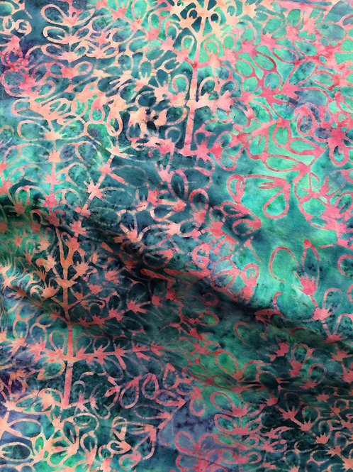 Sew Simple Stamped Batiks- SSHH196-24 LEAF