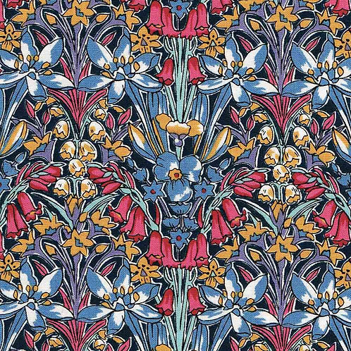 Aldington Hall, Winter Flower Garden- Liberty Fabrics