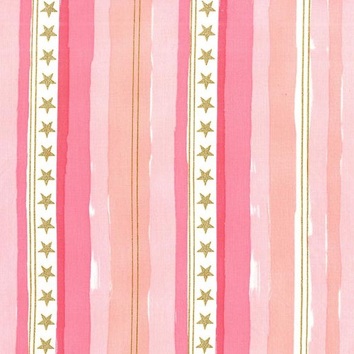 Stars and Stripes Pink, Sarah Jane - Michael Miller
