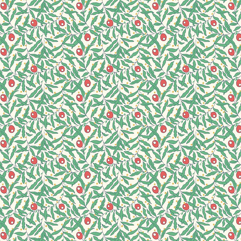 Merry & Berry Holiday Berries 936A- Liberty Fabrics