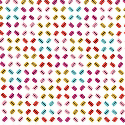 Les Macarons Cupcake- Michael Miller Fabrics