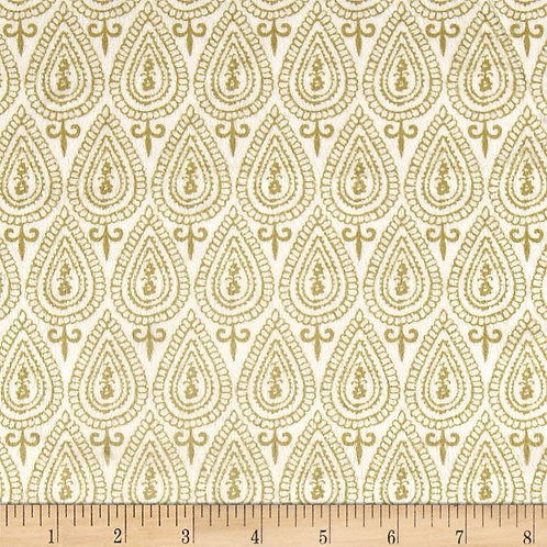 Ginger Blossom Topaz- Michael Miller Fabrics