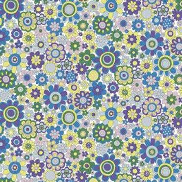 Carnaby Paradise Petals 948B- Liberty Fabrics