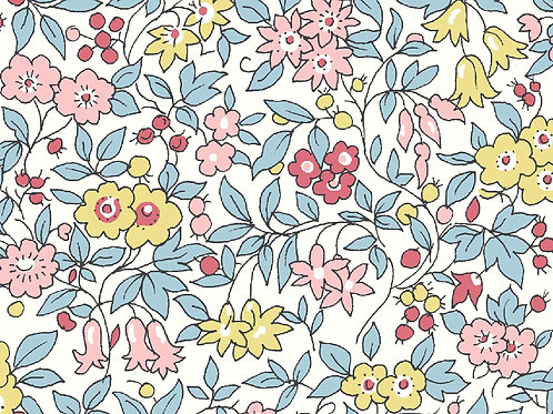 Forget Me Not ,Spring Flowers- Liberty Fabrics