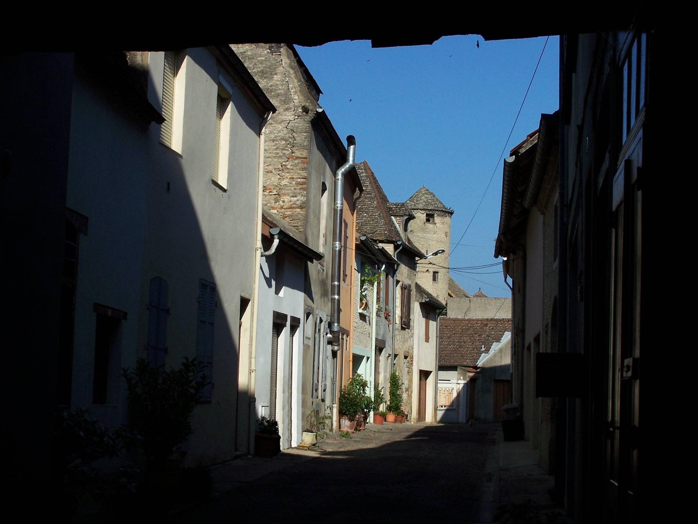 La rue du Portail