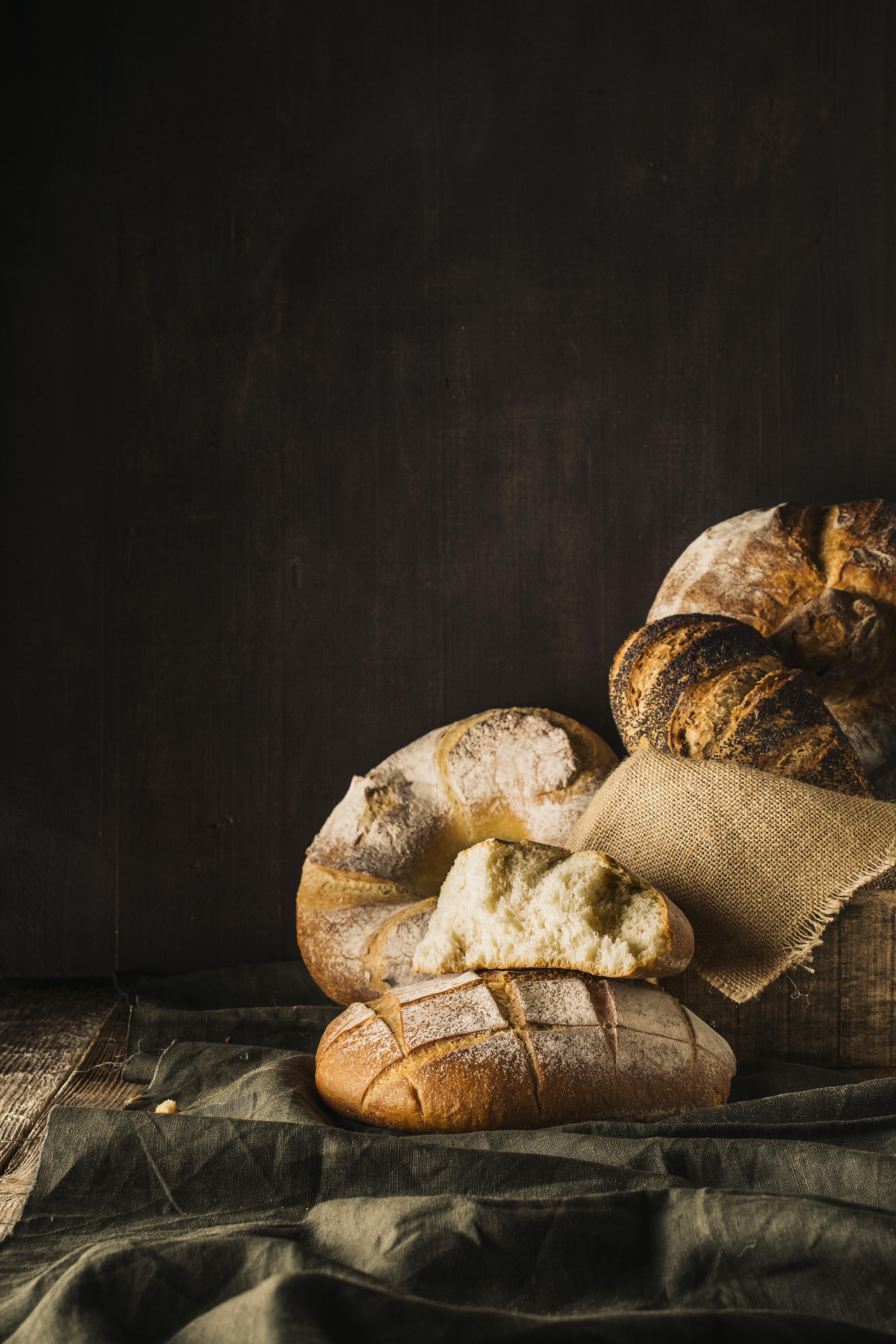 bread food photography bakery