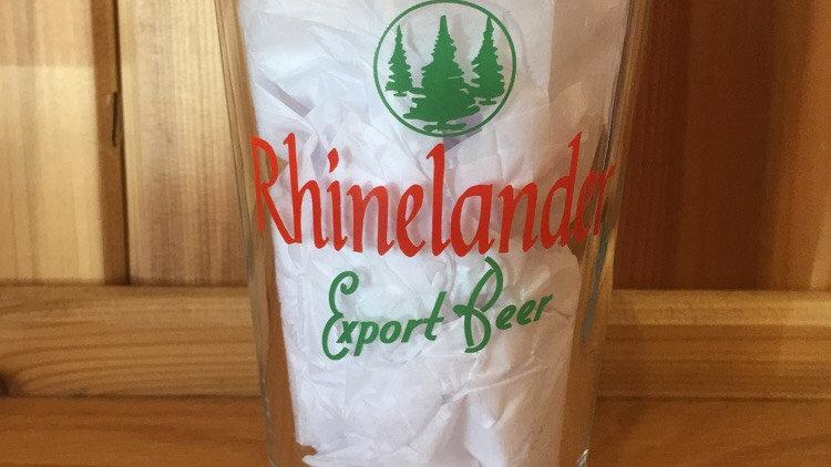 Rhinelander - Pint Glass