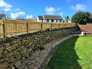 Featheredge Fence on Cornish Hedge (2).J