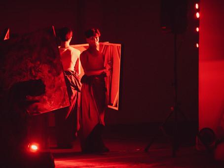 2020/1/19 藏紅山海 Saffron | 繪畫×肢體×音樂 跨領域合作表演@群島Islands