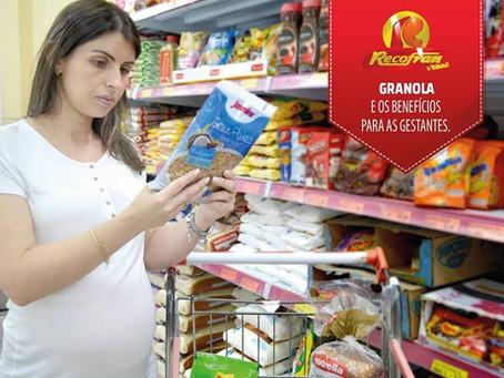 GRANOLA E OS BENEFÍCIOS PARA GESTANTES